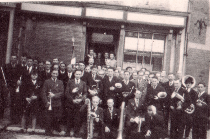 The society in 1945